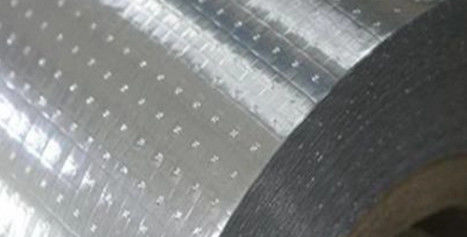 Perforated Heat Insulation Radiant Barrier Foil Double Side For Insulation